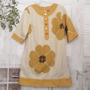Marc by Marc Jacobs Yellow floral shift dress